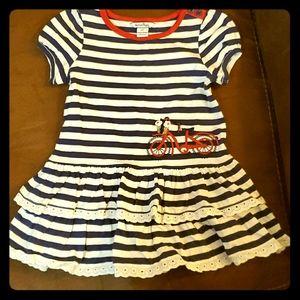 Hartstrings Little Girls Toddler Cotton Linen Short Brown 2T Hartstrings Girls 2-6x